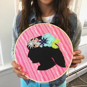 Silhouette Applique Wallhanging