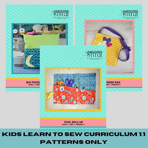 Kids Learn to Sew E-Course: Instructions Only Bundle