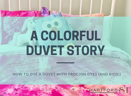 A Colorful Duvet Story