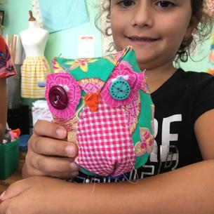 Mini Owl Softie