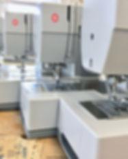 Singer Heavy Duty 4423 sewing machines at Hartford Stitch sewing school in West Hartford, CT