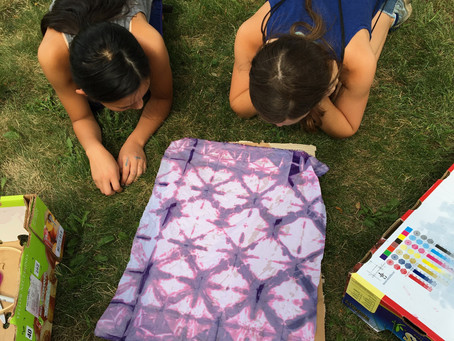 Summer Camp Spotlight: Fabric Design + Sewing