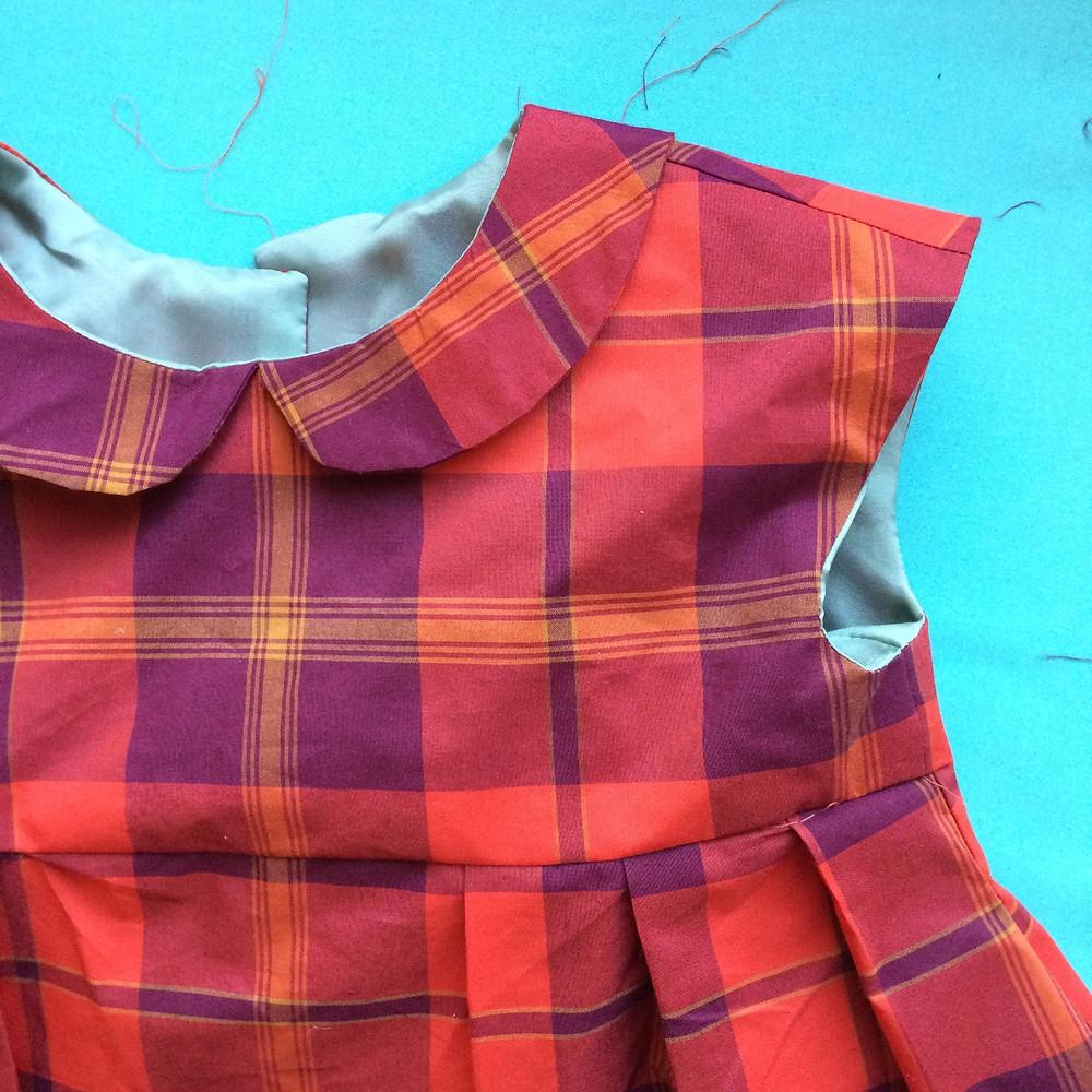 Geranium Dress Peter Pan Collar
