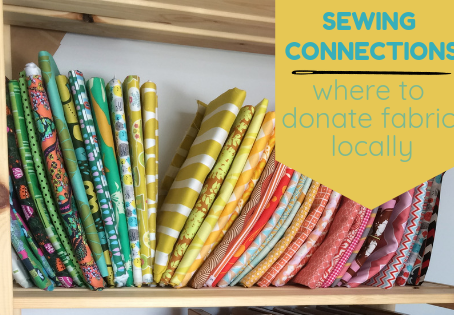 Where to Donate Your Fabric