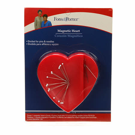 Magnetic Heart Pin