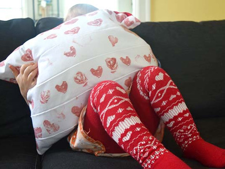 Valentine's Day Sewing Project with Kids