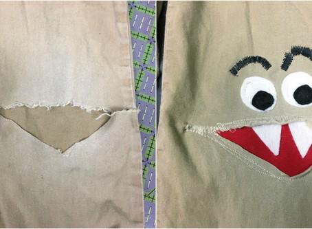 Sewing Green: Visible Mending