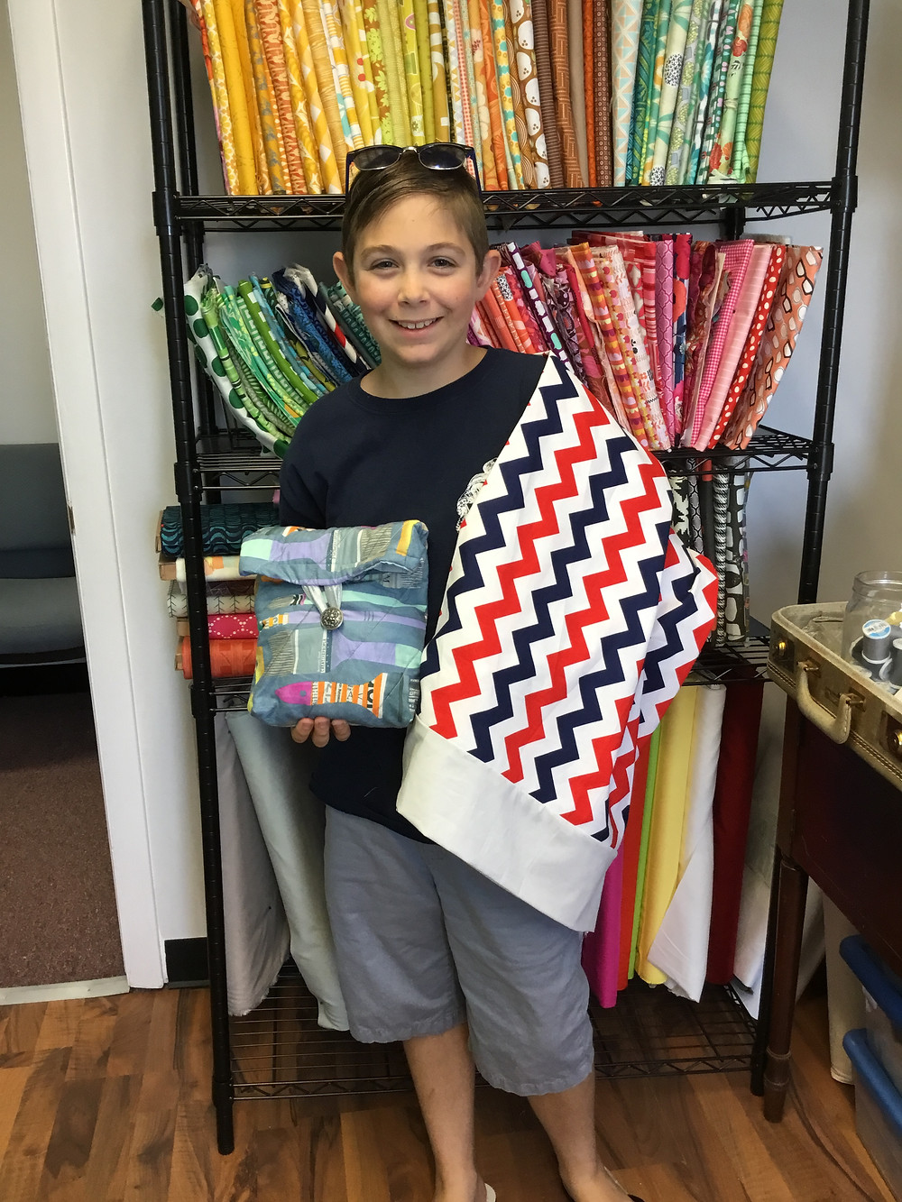 Free Sewing Pattern from Hartford Stitch: Insulated Lunch Bag