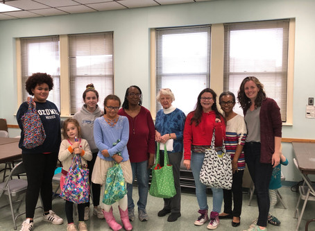 Sewing Buddies: An Inter-generational Sewing Program