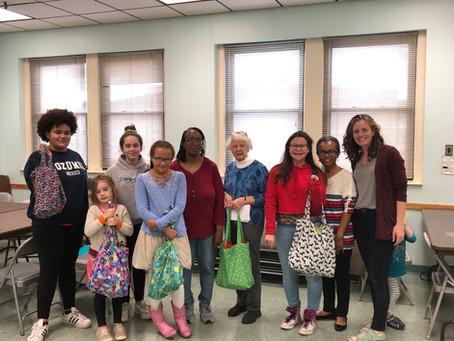 Sewing Buddies: An Inter-generational Sewing Program