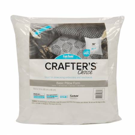 "Crafter's Choice 18"" Pillow Form"