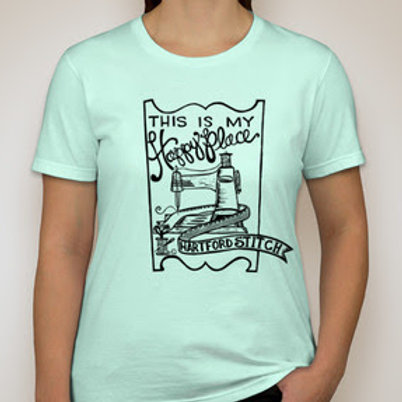Hartford Stitch Happy Place T-Shirt