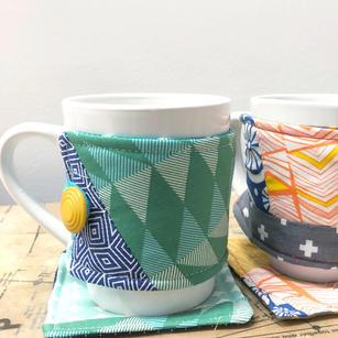 Mug Cozy and Coaster