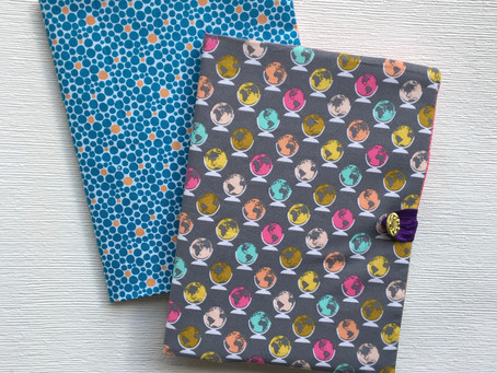 New Pattern: Composition Notebook Cover