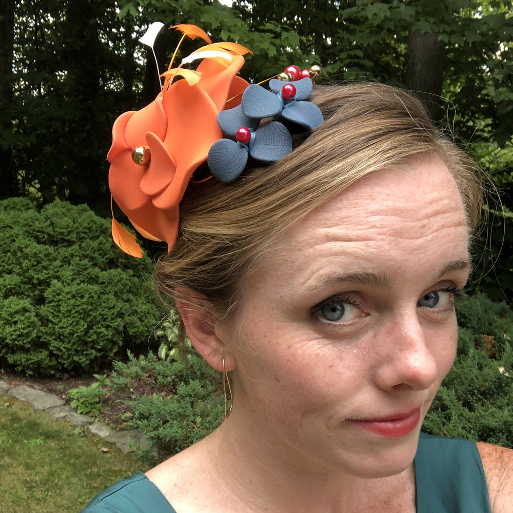 Handmade Fascinator from My Art Deco on Etsy