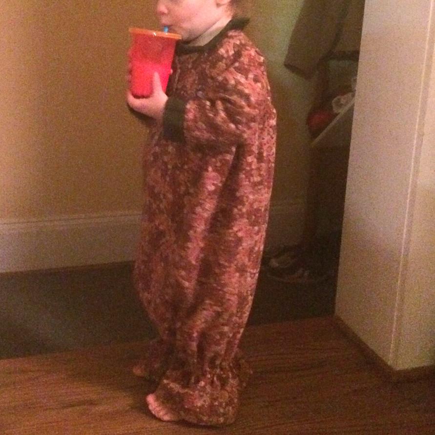 Geranium Dress Pajamas