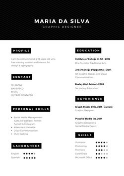 Modelo de Currículo 07