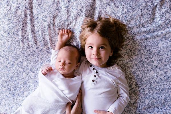 Małym dzieckiem i dziecka