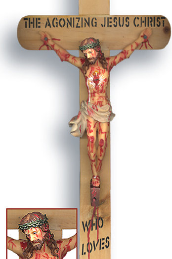 Agonizing Crucifix ( For consecrated Devotees only)