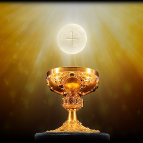 I AM TRULY PRESENT IN THE SACRAMENT OF THE HOLY EUCHARIST