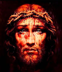 Agonizing Jesus Christ
