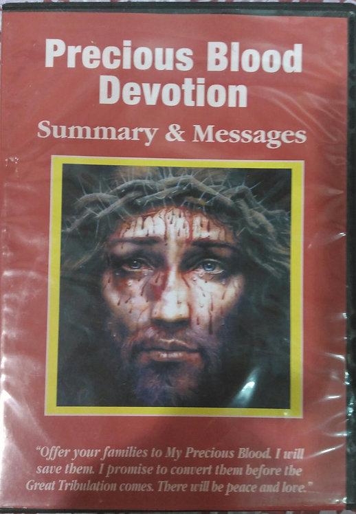 Precious Blood Devotion, A summary ( DVD)