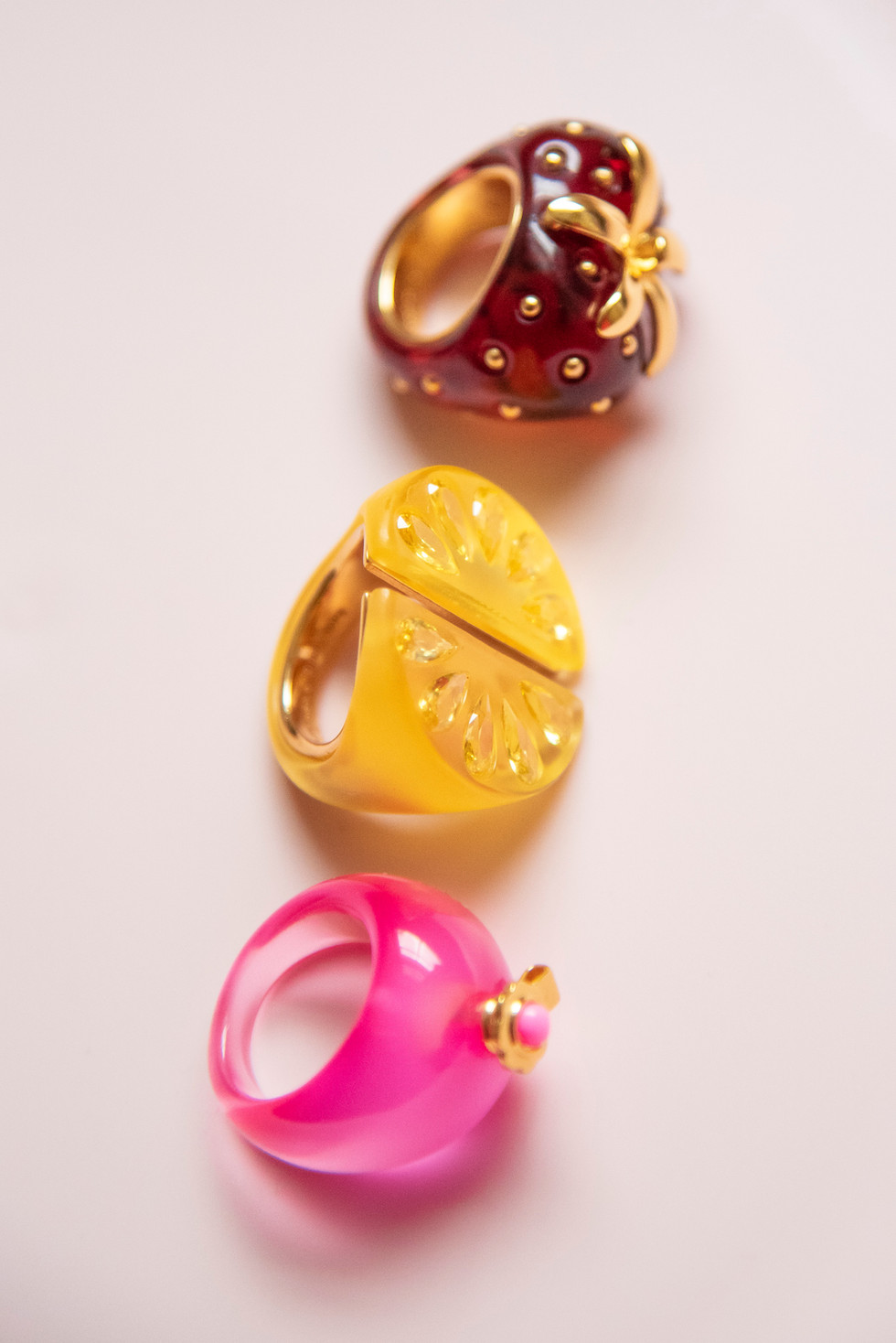 Tutti Fruity and Poolside Rings