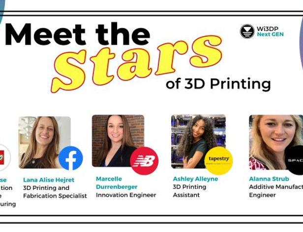Meet the Stars of 3D Printing