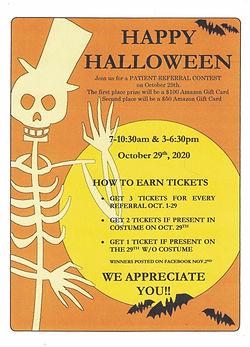Halloween Event 2020