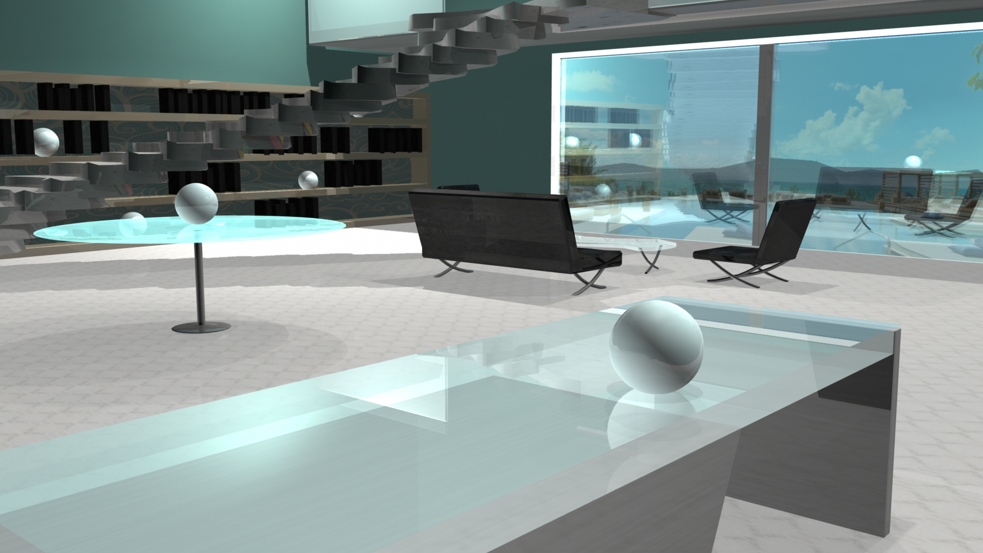 Hotel Lobby Design 3