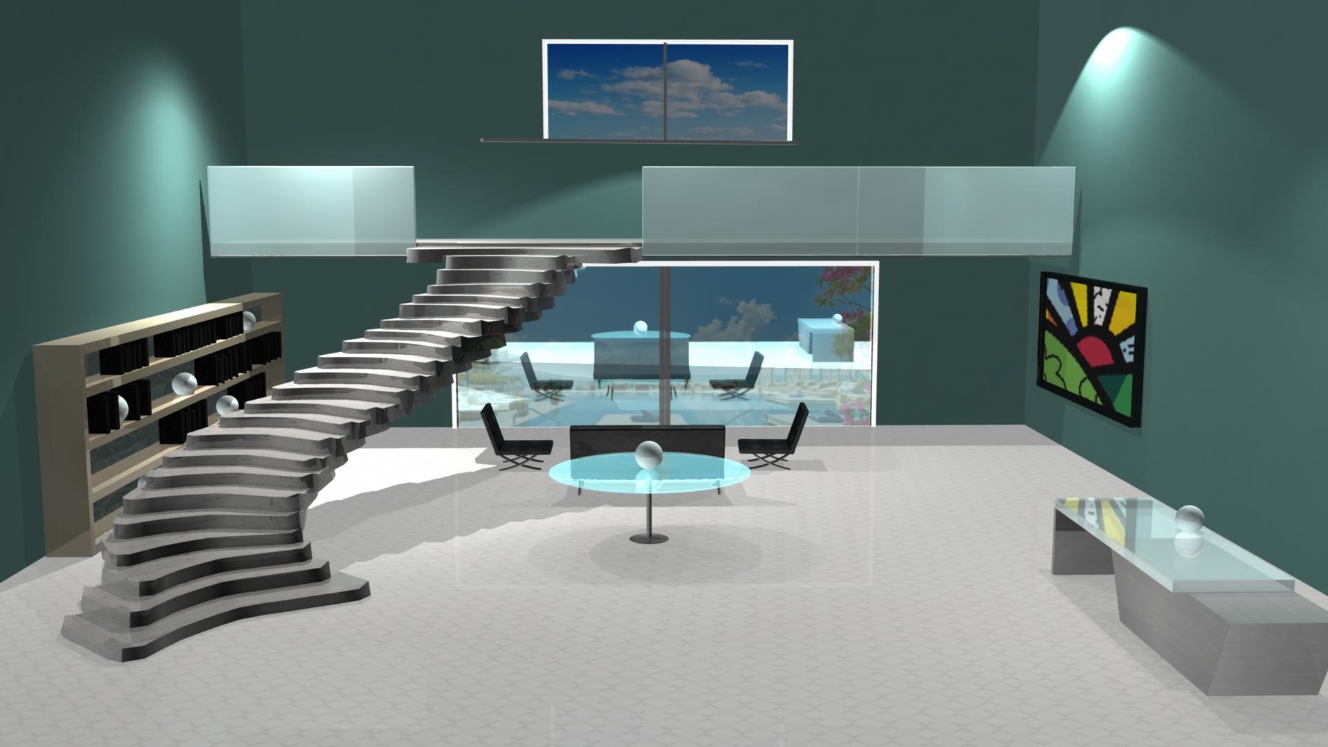 Hotel Lobby Design 1