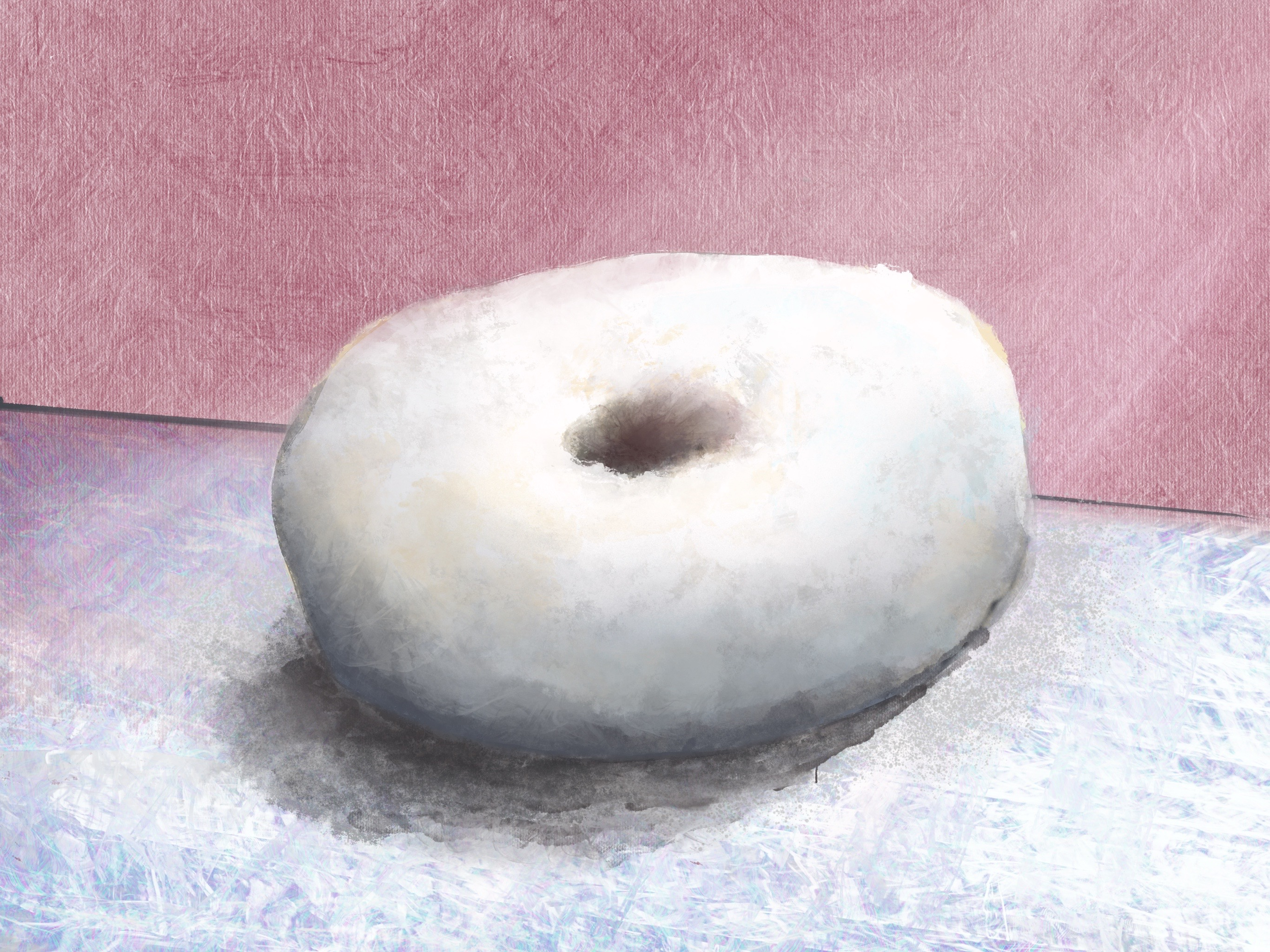 Powdered Donut