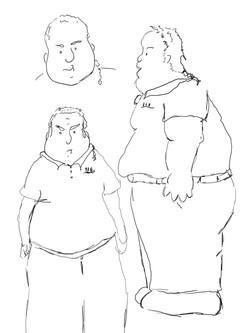 Character Design Sketch
