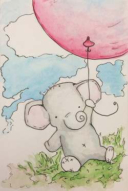 Weightless Elephant