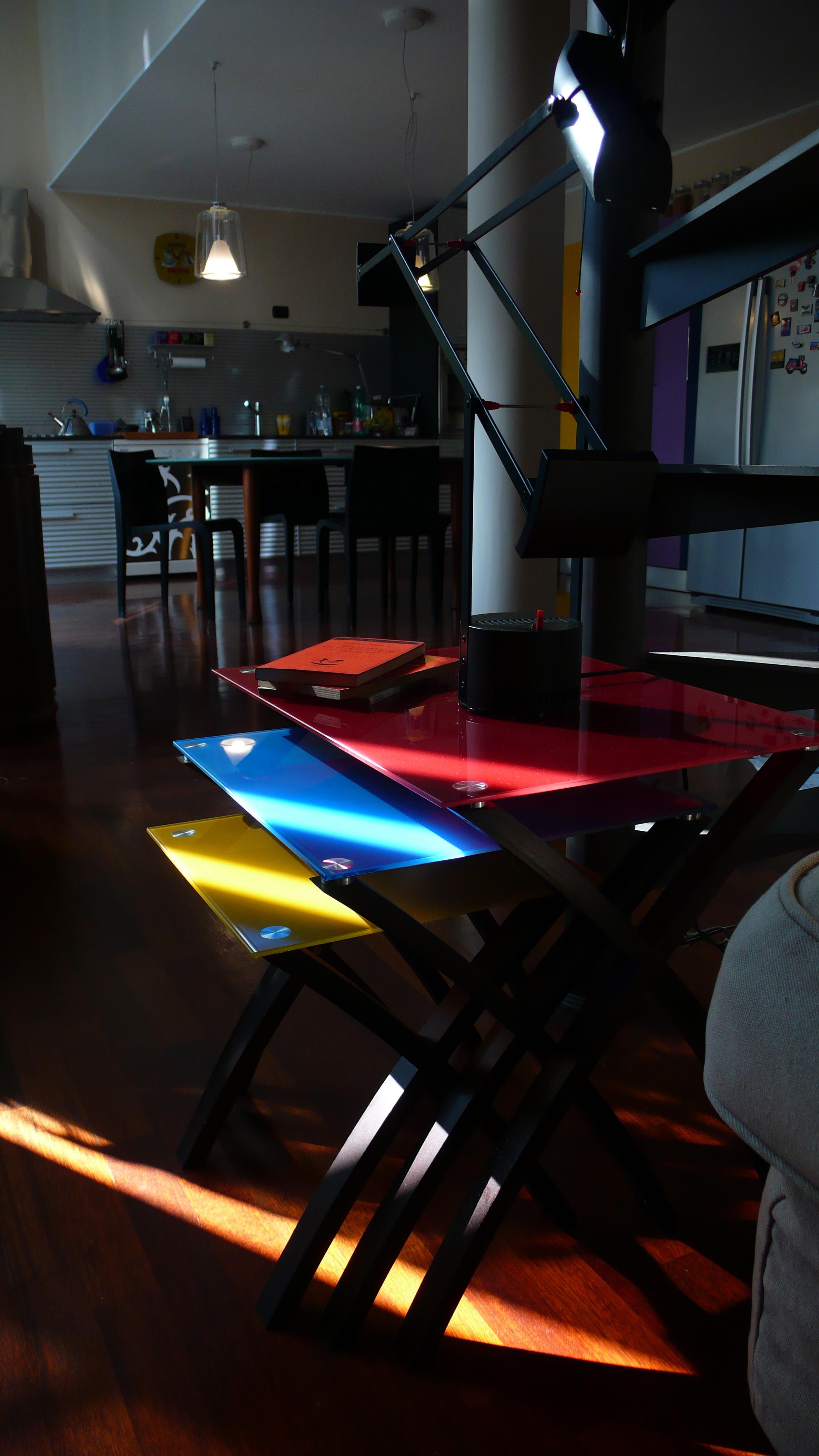 Dettaglio tavolini