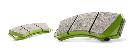 Nashin N-Series Green Brake Pads