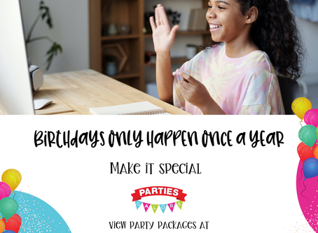 10 Games for your Kid's Virtual Birthday Party