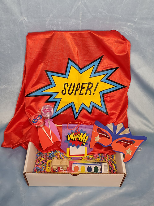 Superhero Gift Box // Happy Birthday Box // Quarantine Box // Kids Activity Box