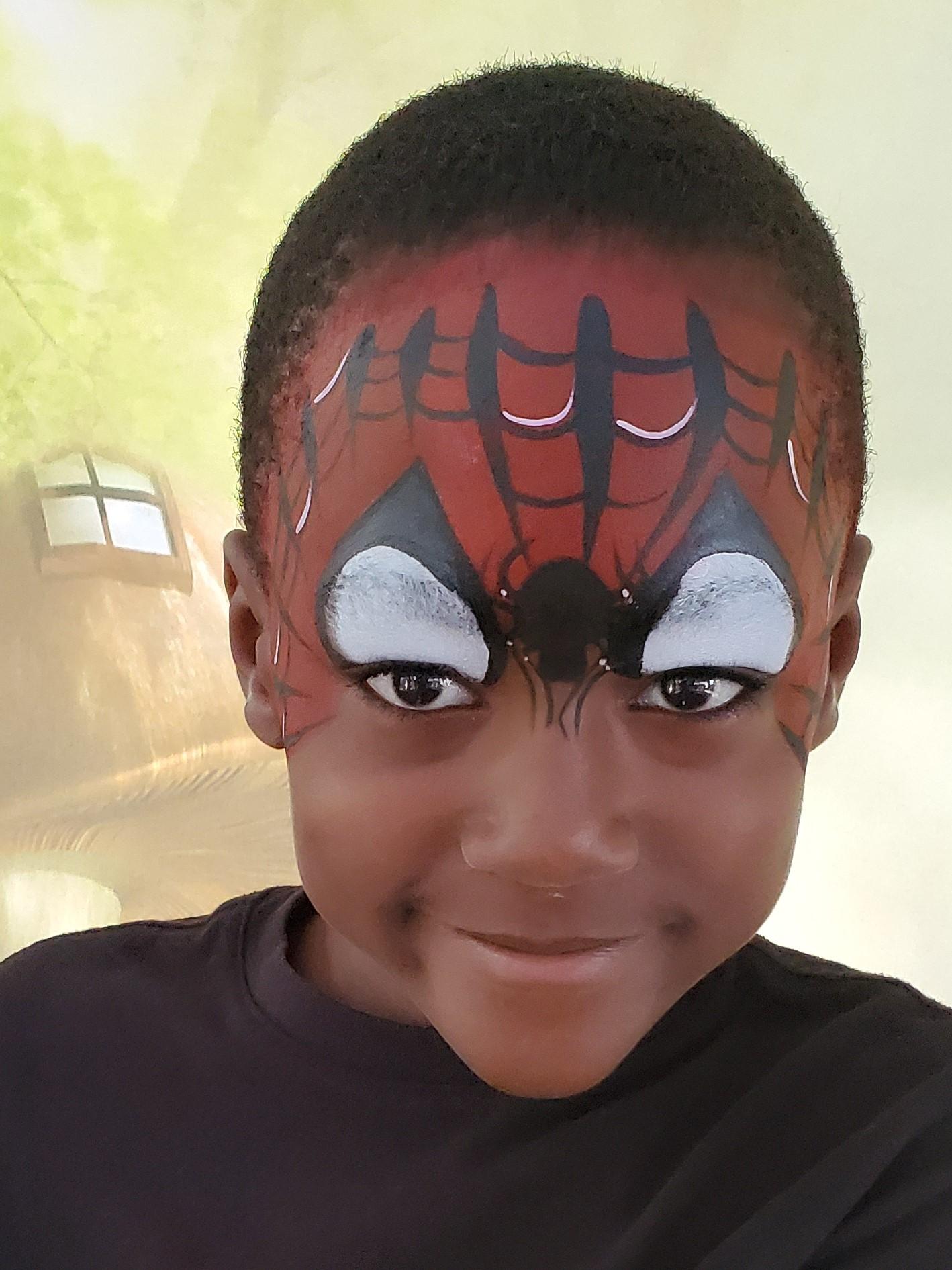 Parties_Galore_Spiderman_face_paint