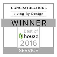 Living By Design Houzz 2016 winner