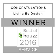 Living By Design Houzz 2016 winner