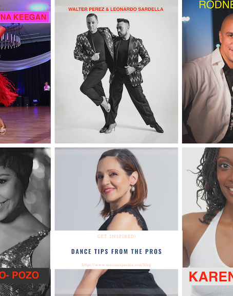 Dance Tips & advice from the Pros