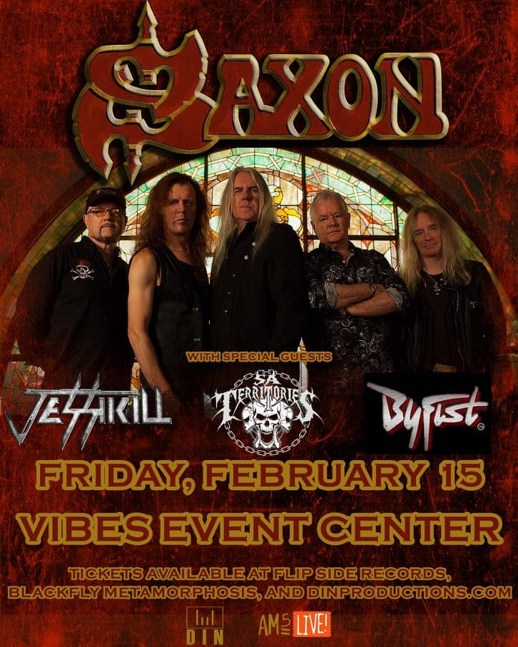 JESSIKILL Opening for SAXON!!