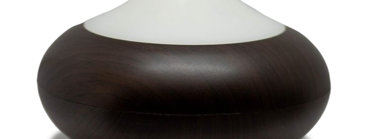 Difusor Ultrasónico Negro Led OScuro