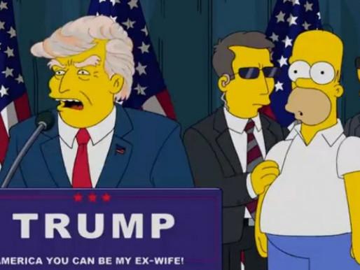 """Los guionistas de Los Simpson revelaron cómo logran """"predecir"""" el futuro"""