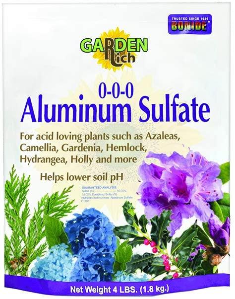Aluminum Sulfate, 4lb Bonide Products