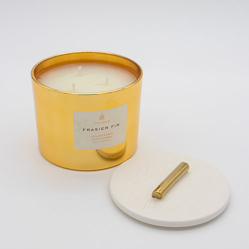 Frasier Fir Gilded Poured 3 Wick Candle