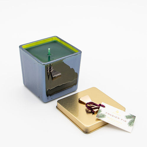 Fraiser Fir Glass Gift Box Poured Candle