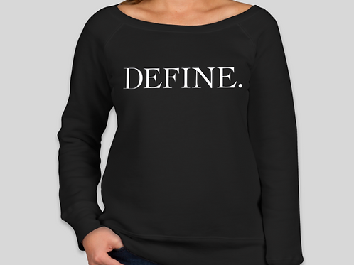 Ladies Tri Blend Define Sweatshirt