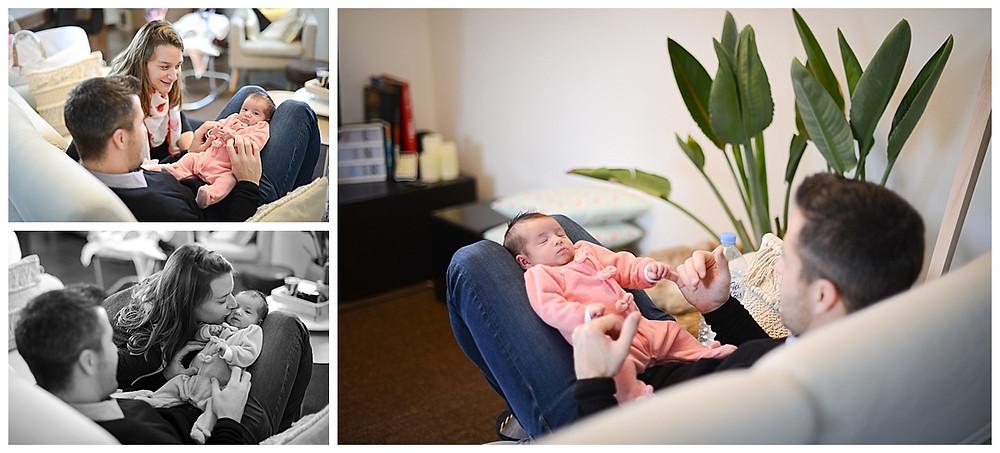 Séance photo naissance à domicile